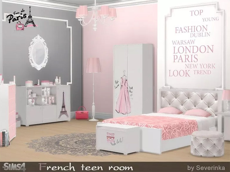 French Teen Room mod