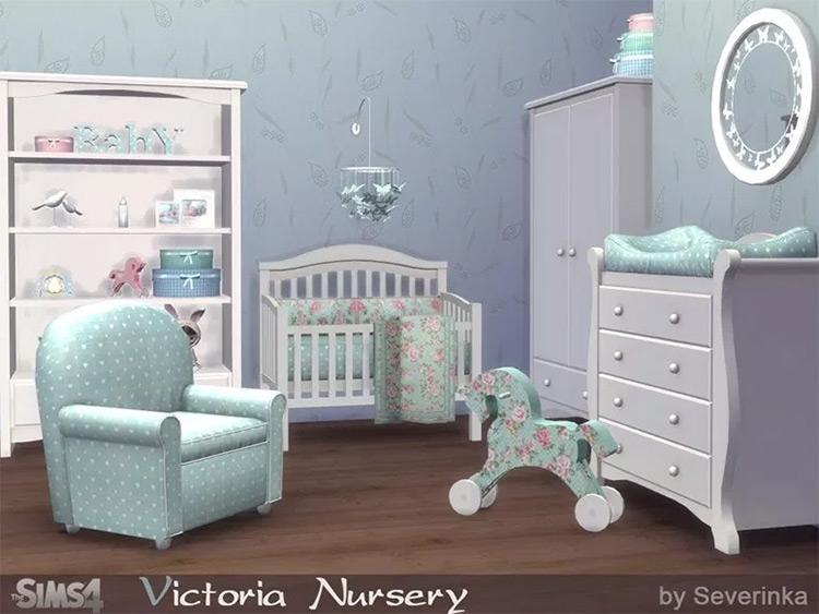 Victoria Nursery Sims4 mod