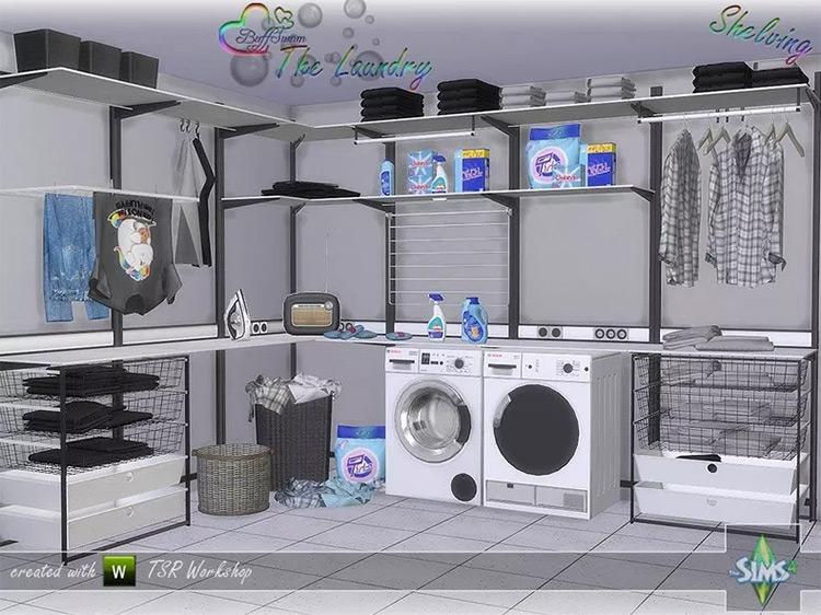 The Laundry CC mod