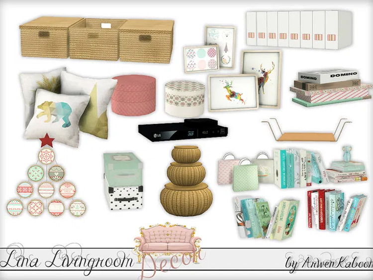 Lina Livingroom mod