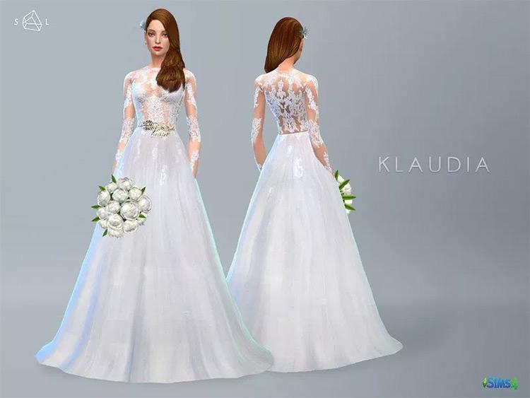 Lace Wedding Dress mod