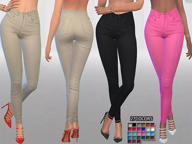 Summer Love Jeans Sims4 mod