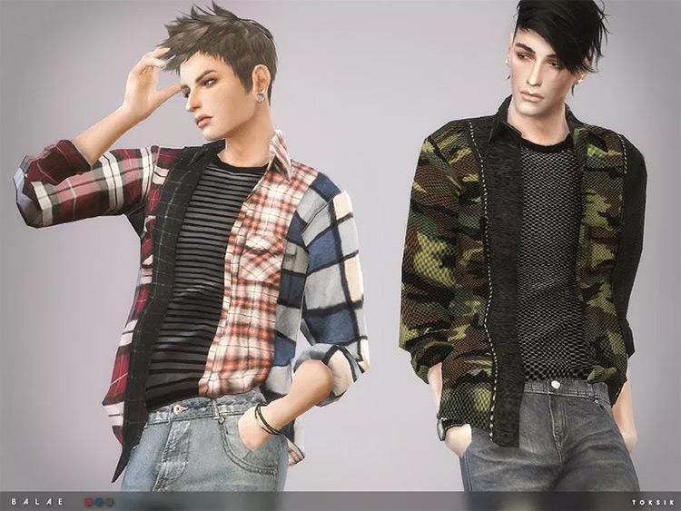 Balae Shirt Sims4