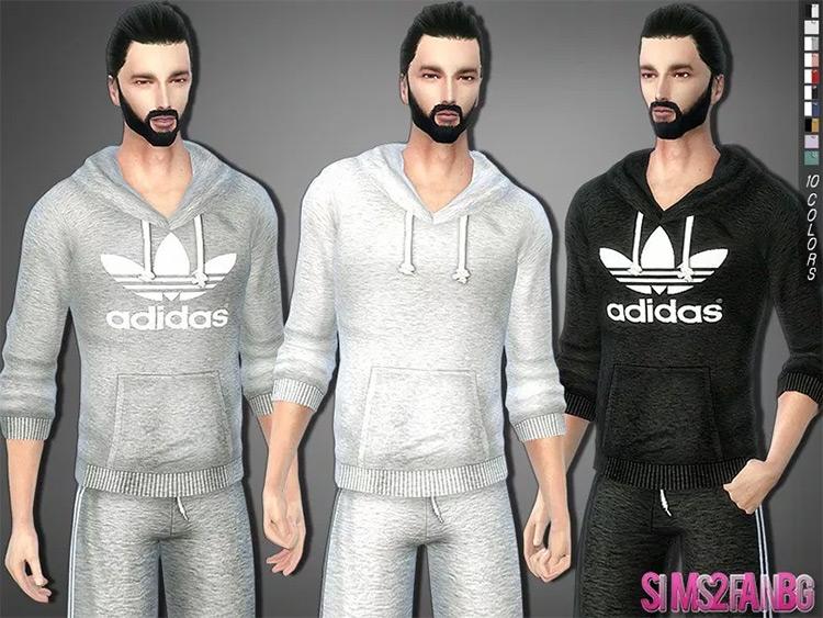 Athletic Sweatshirt Sims4