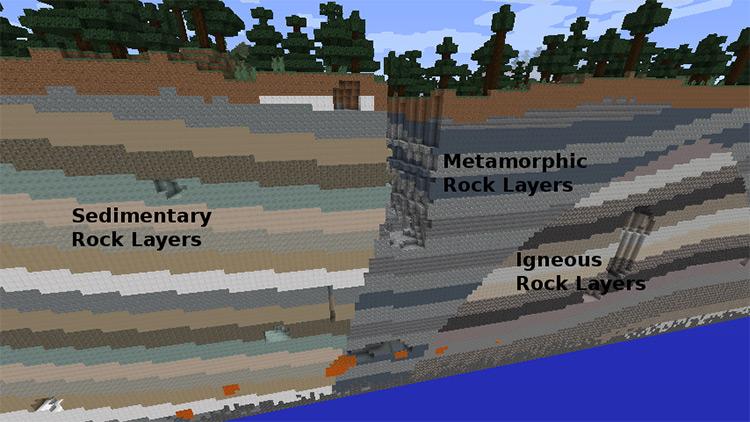 Minecraft Mineralogy mod