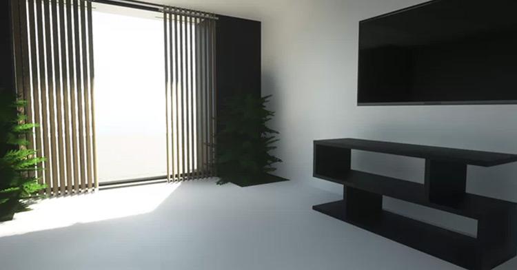 modern minecraft mansion interior ideas