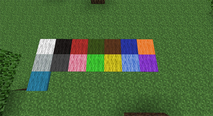 Carpet Mod in Minecraft