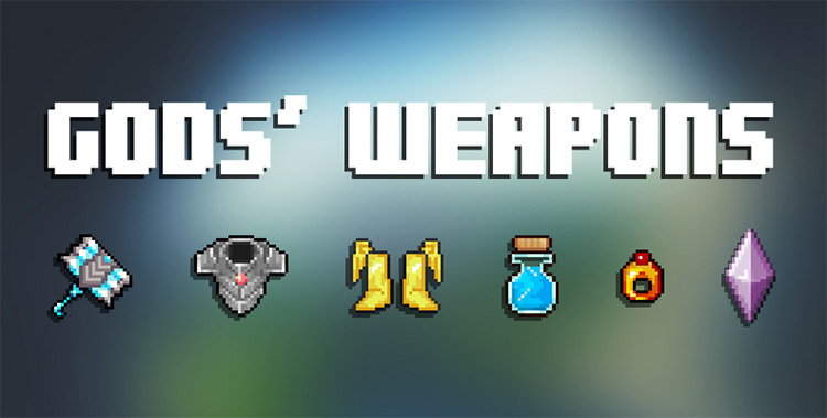 Gods' Weapons mod