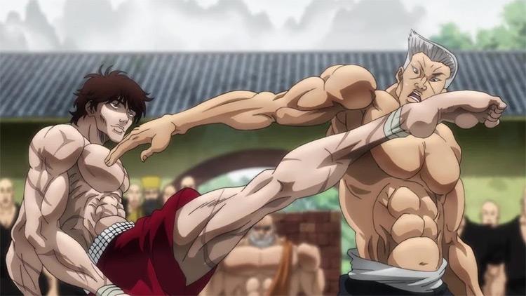 Grappler Baki anime