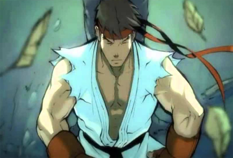Anime de Street Fighter II V