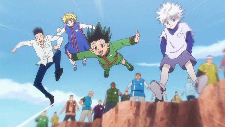 Hunter x Hunter anime
