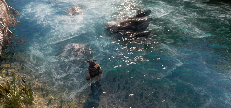 Watercolor ENB restyling water in Skyrim - Mod Preview
