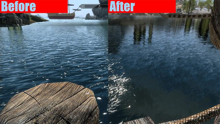 Better Water Mod Screenshot for Skyrim
