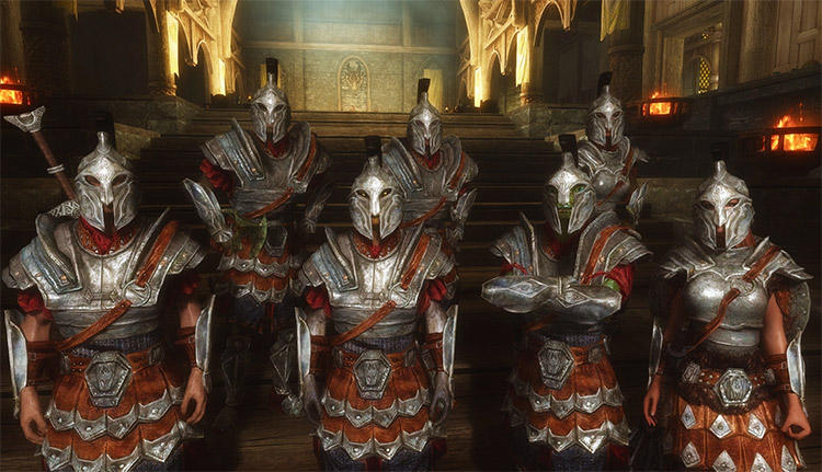 Improved closed-face helmet mod for Skyrim