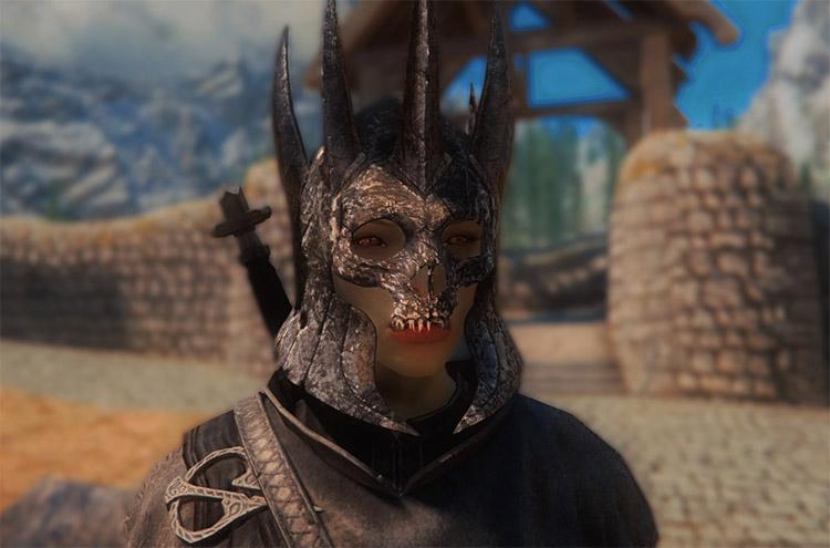 Eredin Helmet Customized Mod for Skyrim
