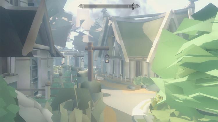 Toon Indie Skyrim ENB Mod Screenshot