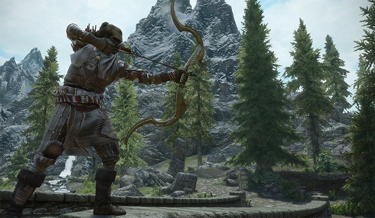 Archery Overhaul Mod Preview for Skyrim