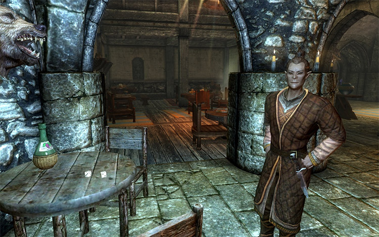 Dice Games Addition to Taverns - TES5 Mod
