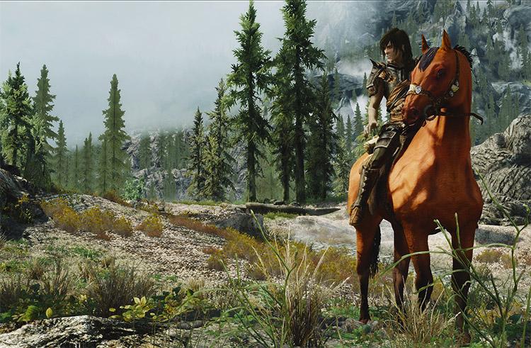 Skyrim Horses Renewal Mod Preview
