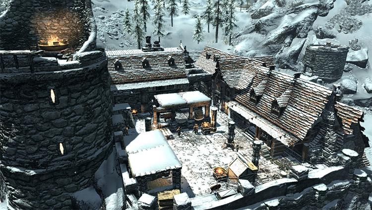 Sutvaka Fortified Estate Mod for Skyrim