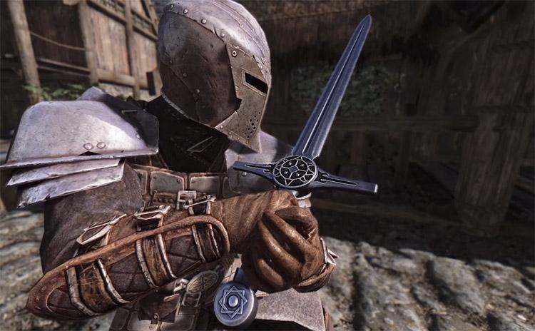 Delarpification Mod Sword Screenshot in Skyrim