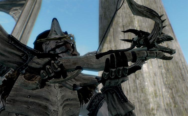 Dragonbone Crossbow Mod for Skyrim