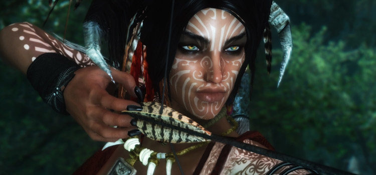 Best Skyrim Tattoo & War Paint Mods (All Free)