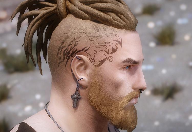 Community Overlays Tattoo Mod For Skyrim