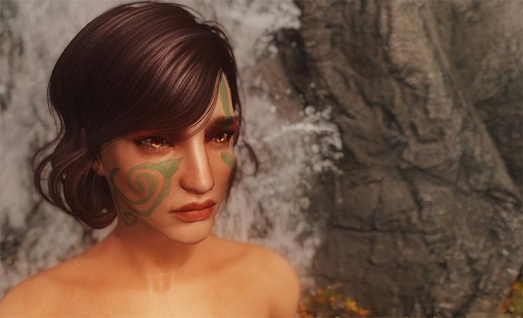Painterly War Paint Mod for Skyrim