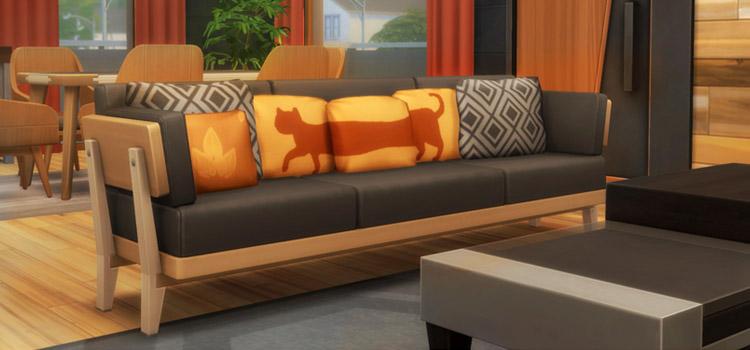 Sims 4 Custom Couch Pillows - PillowsGalore CC