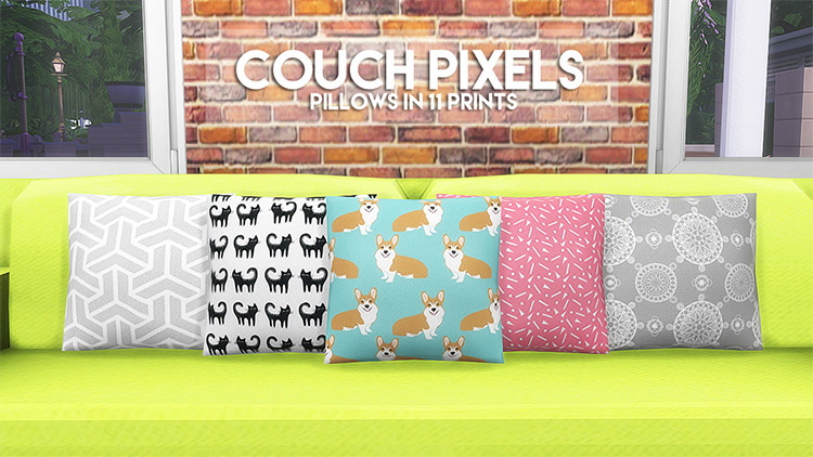 Couch Pixels for Sims 4