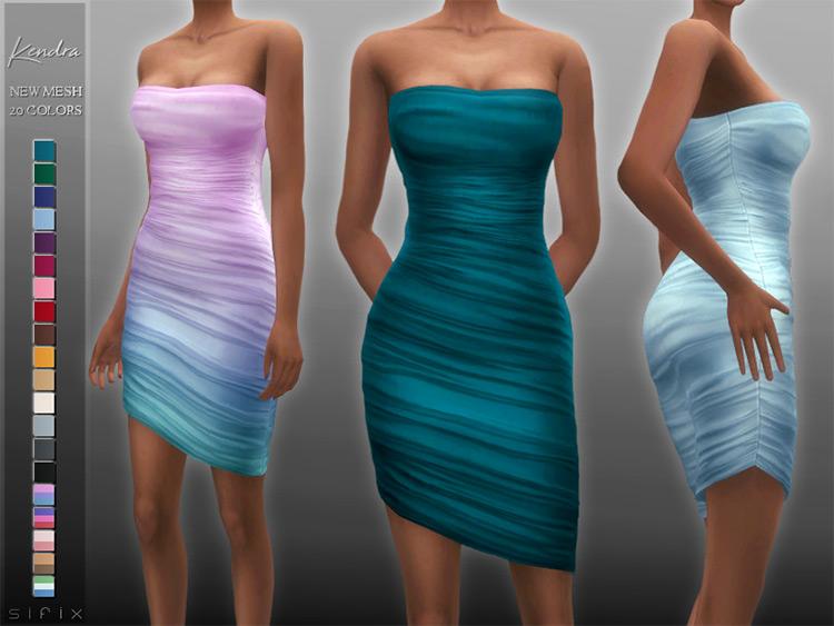 Kendra Dress TS4 CC