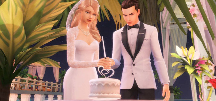 Best Sims 4 Wedding Cake CC (All Free To Download)