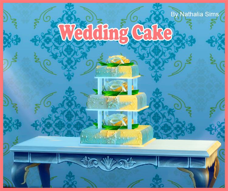 Wedding Cake Conversion TS4 CC