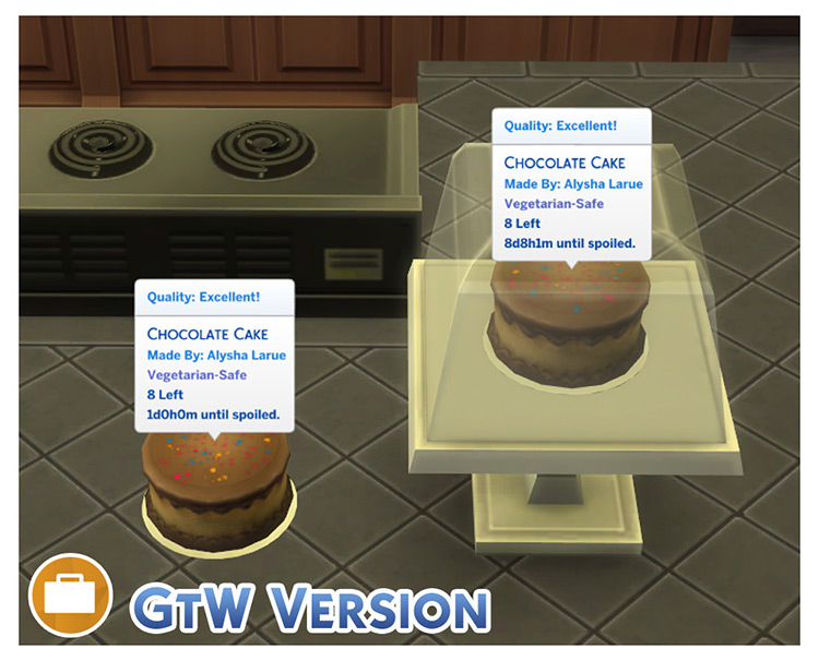 Functional Cake Stand for Sims 4