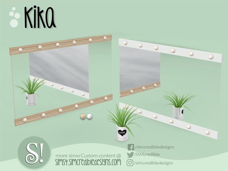 Kika Mirror Sims 4 CC