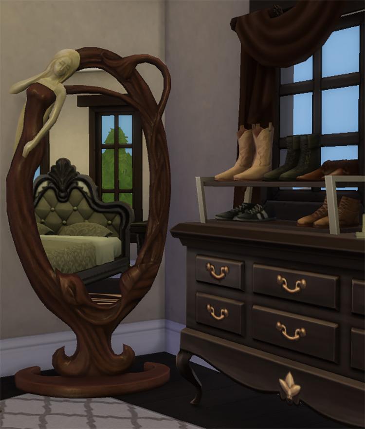 Nouveaulicious Floor Mirror TS4 CC