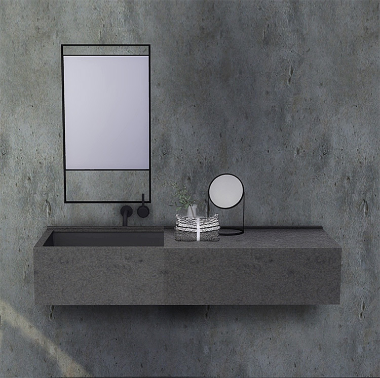 Industrial Mirror Set for Sims 4