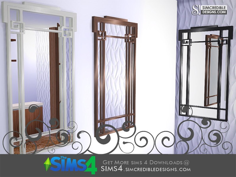 Suddenly Classic Mirror for Sims 4