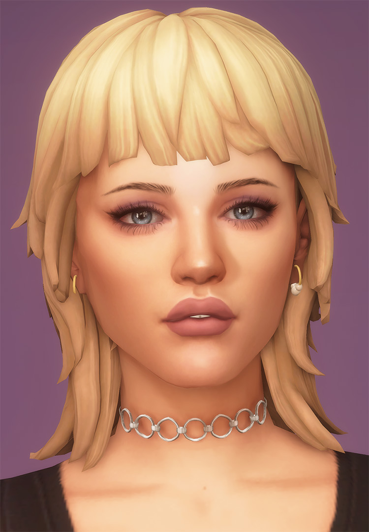 Miley Mullet for Sims 4