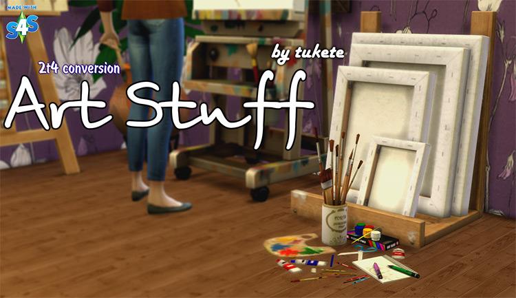 Art Stuff Sims 4 CC