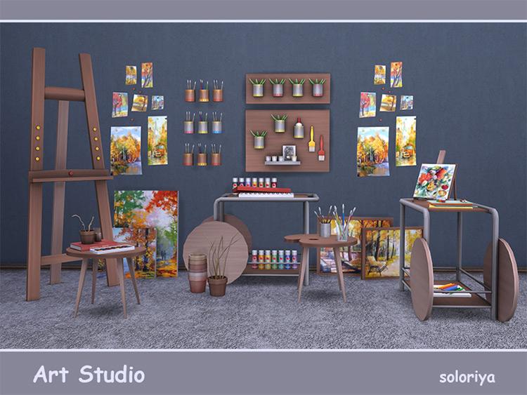Art Studio Sims 4 CC