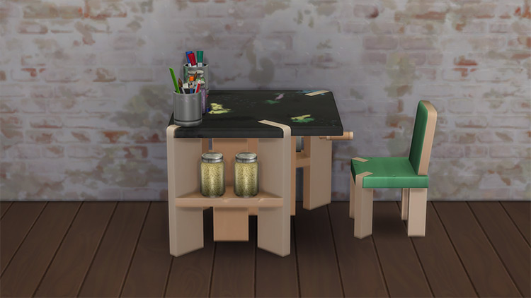 Young Artists Stuff Pack for Sims 4