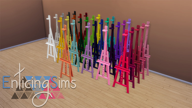 Easel Recolors for Sims 4