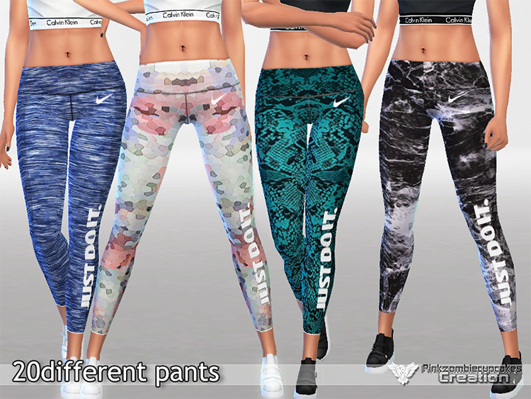 Athletic Pants Collection Sims 4 CC