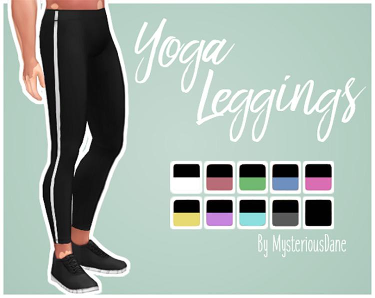 Yoga Leggings for Sims 4
