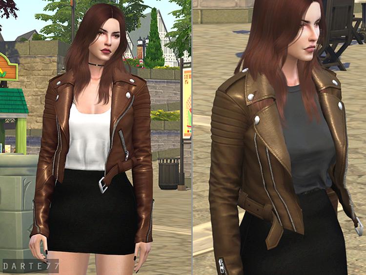 Biker Jacket for Sims 4