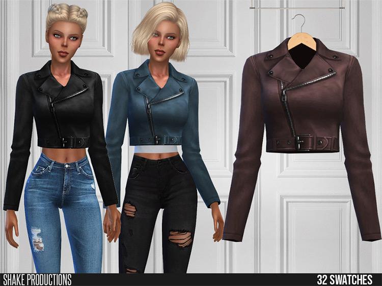 ShakeProductions' Leather Jacket TS4 CC