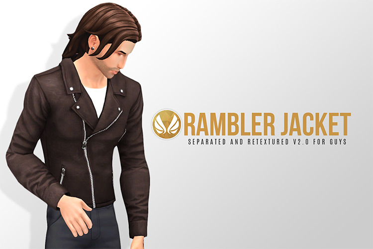 Rambler Jacket for Sims 4