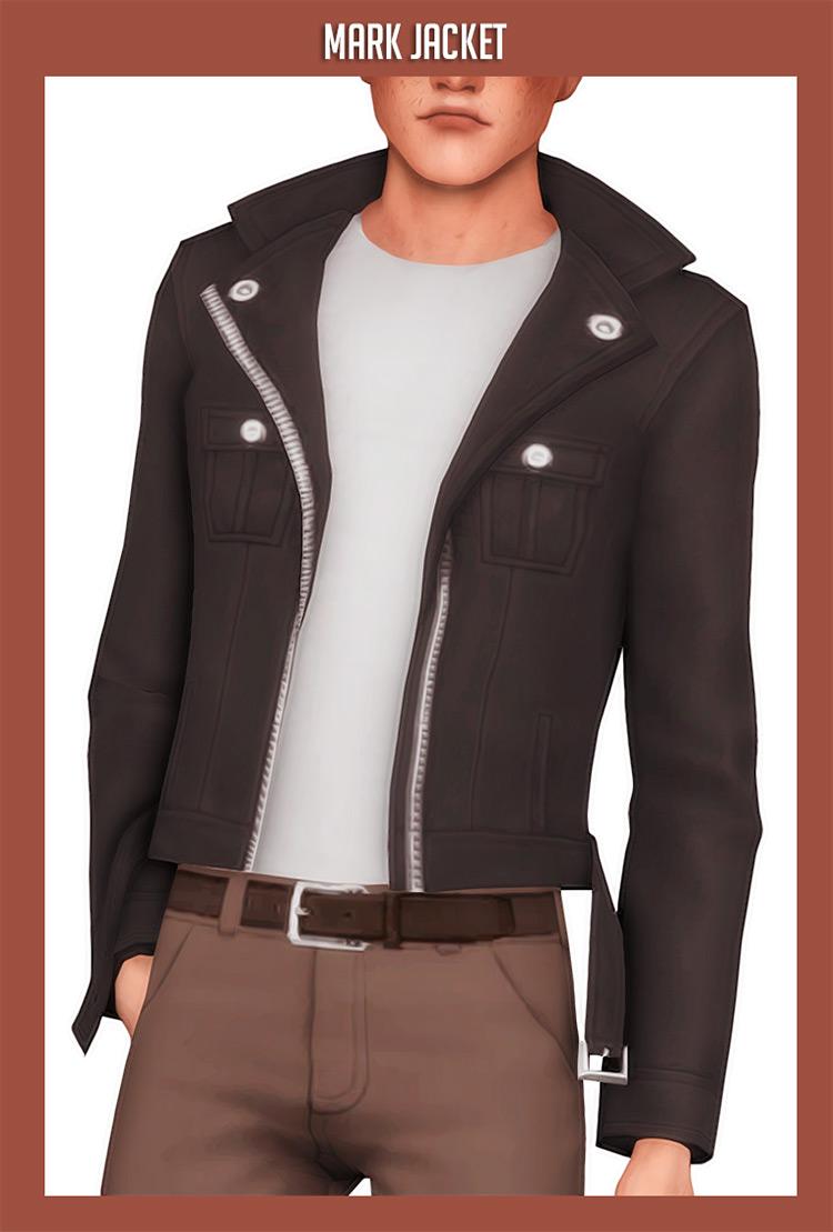 Mark Jacket Sims 4 CC